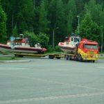 PV Vesijärvi saapumassa Lahteen 16.6.2005