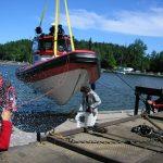 Aluksen PV Vesijärveksi kastoi Teija Niiranen