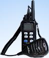 Käsi-VHF-puhelin